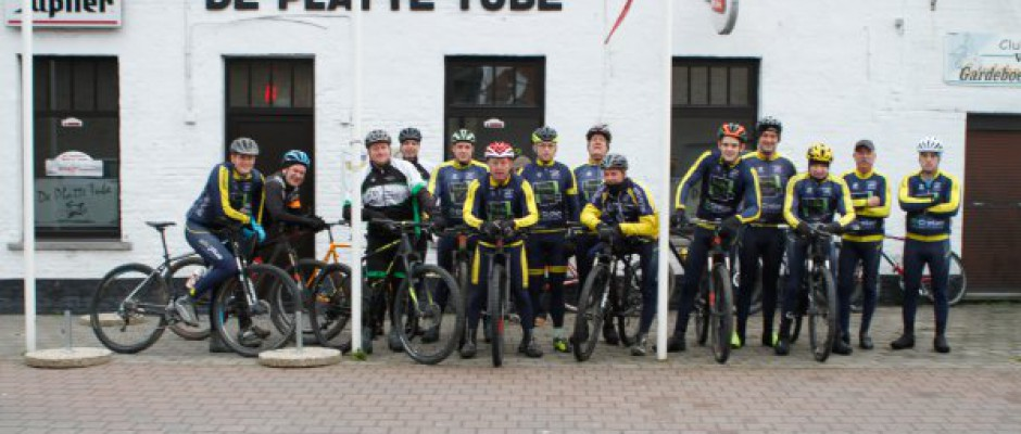 Mountainbikers Oekene