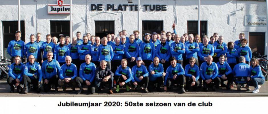 Groepsfoto Wielertoeristen 2020